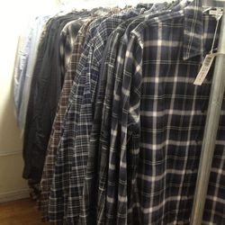 Men's Button-Down Shirts, $50