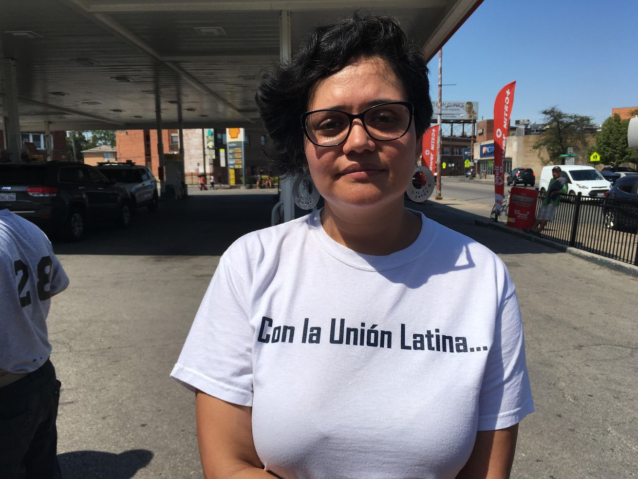 Analia Rodriguez, executive director of the Latino Union of Chicago, in 2016. She is one of 14 recipients of a new grant funded by The Field Foundation of Illinois at the John D. and Catherine T. MacArthur Foundation dedicated to funding grassroots leaders in Chicago. | Maudlyne Ihejirika/Sun-Times