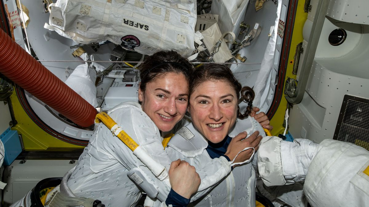 Image result for first all-women spacewalk