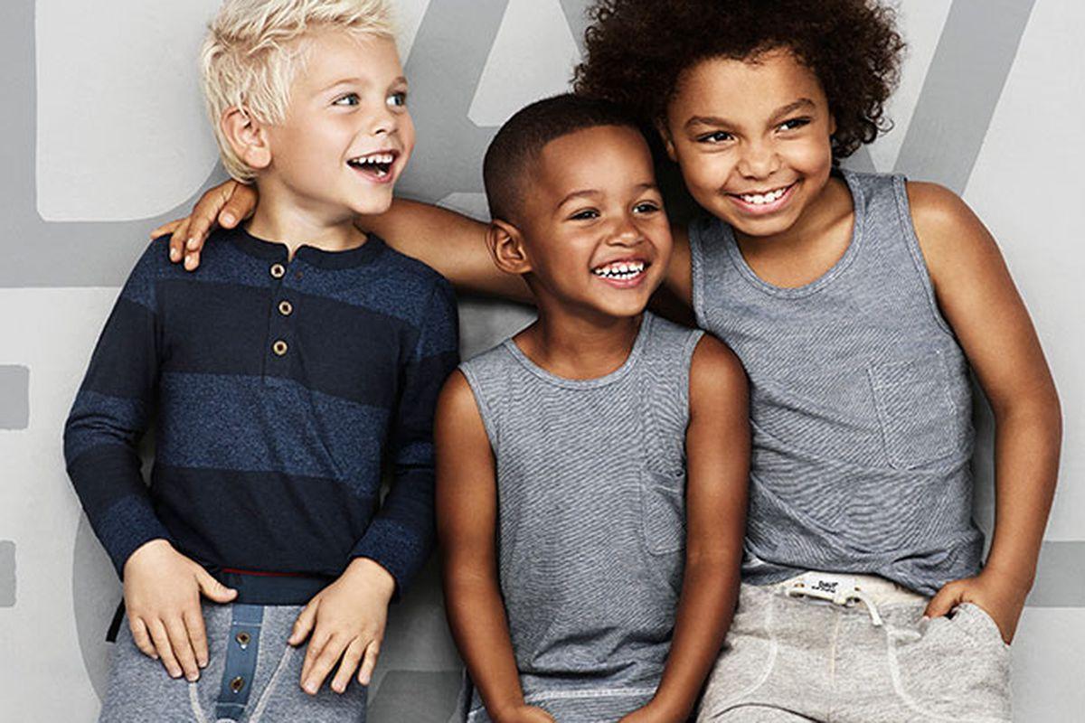 """David Beckham for H&amp;M Boys. Image via <a href=""""http://www.harpersbazaar.co.uk/fashion/inside/david-beckham-bodywear-for-boys#slide-2"""">Harper's Bazaar UK</a>"""
