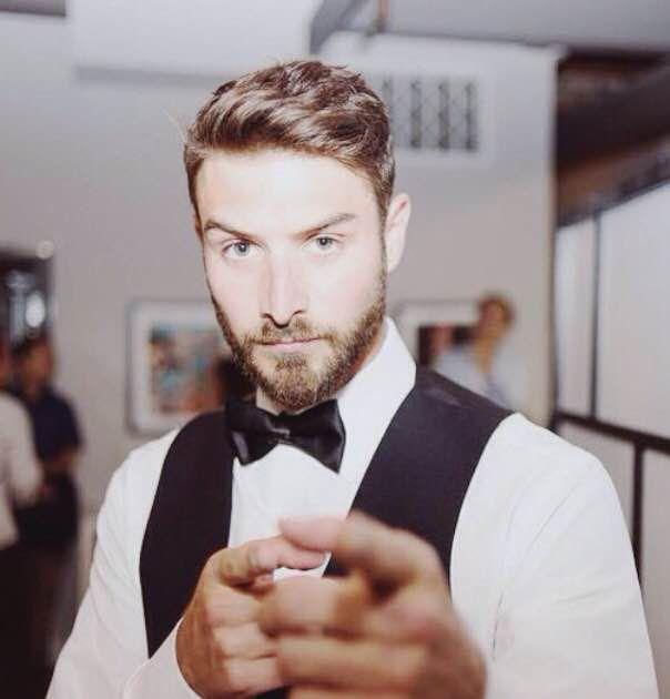 Jamie Michaels* in his ManServants suit