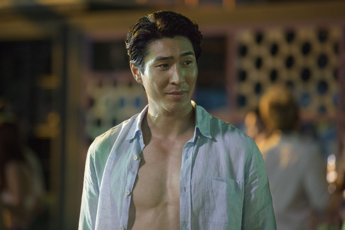 Chris Pang as Colin in Crazy Rich Asians