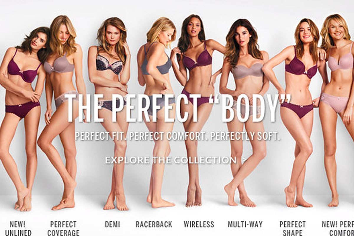 522783d3314 This Victoria s Secret Ad Might Be a Tad Body-Shaming