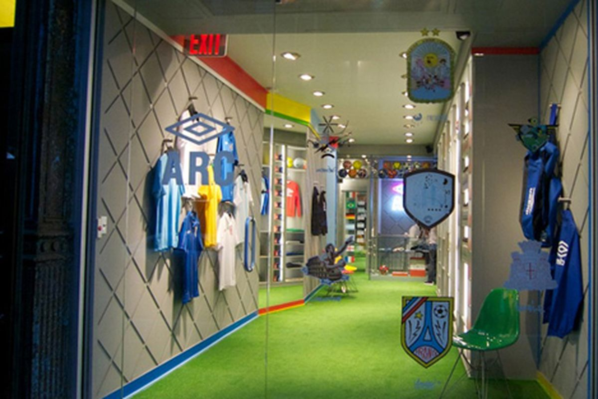 """Image via <a href=""""http://www.refinery29.com/umbro-creates-a-world-cup-pop-up.php"""">Refinery29</a>"""
