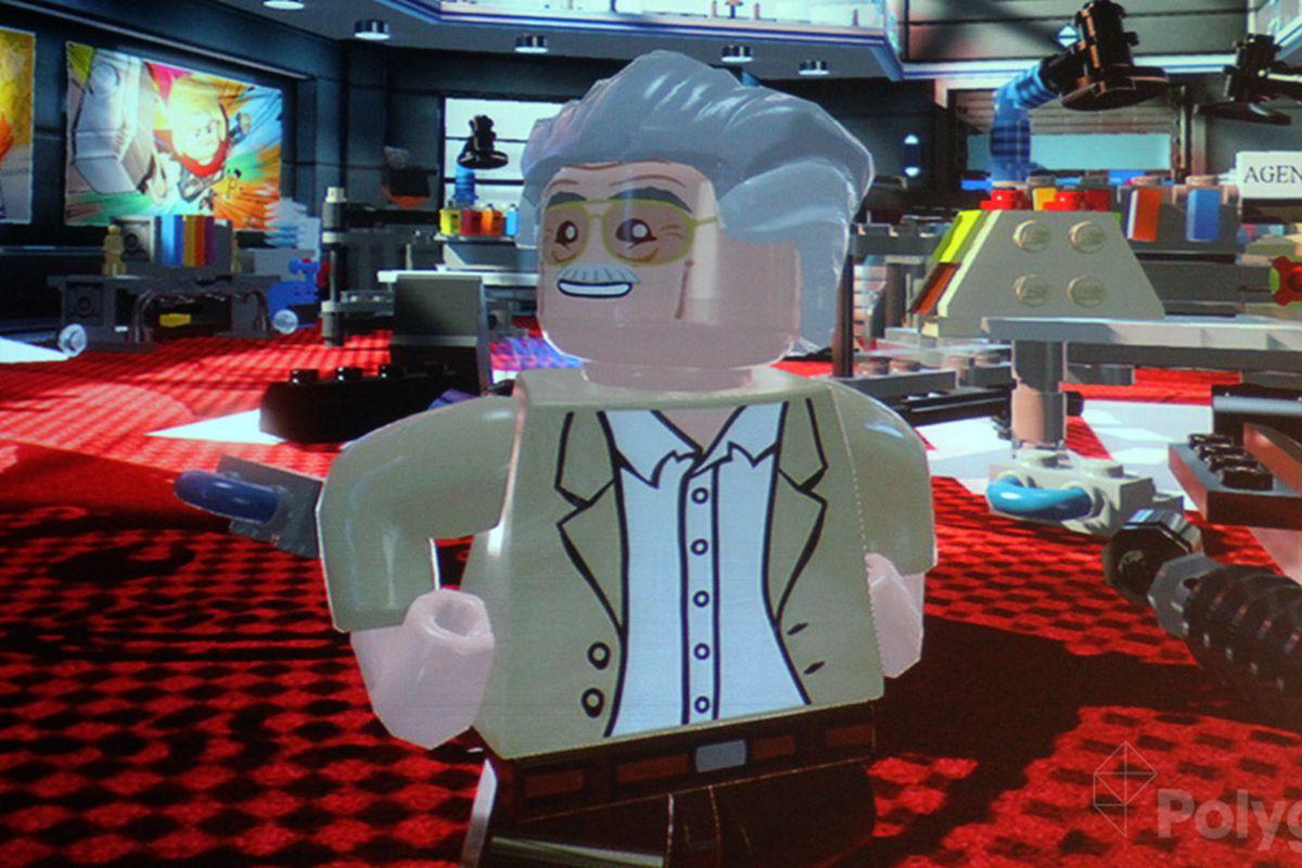 Lego Marvel Super Heroes adds Stan Lee, Howard the Duck, Squirrel