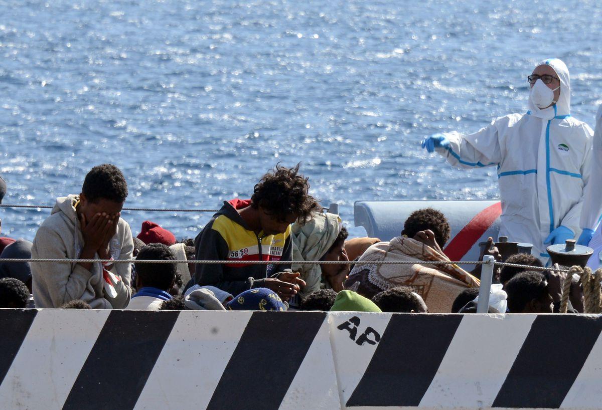 European migrant rescue
