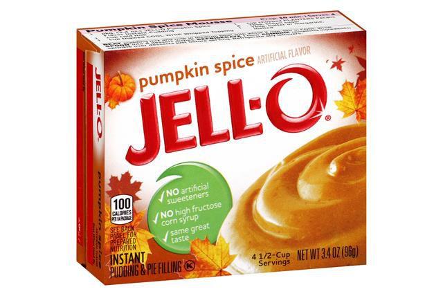 Jell-o Pumpkin Spice pudding