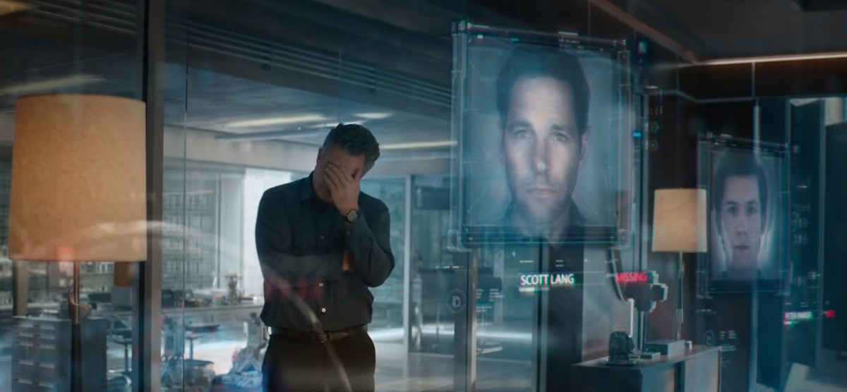 Avengers: Endgame, Scott Lang's Ant-Man and a time travel