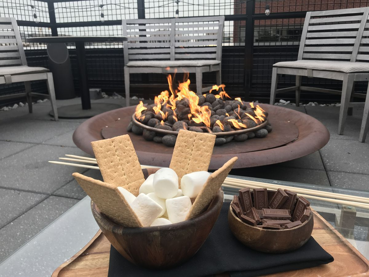 Wild Days bar reboots service this weekend atop Eaton Workshop with s'mores service.