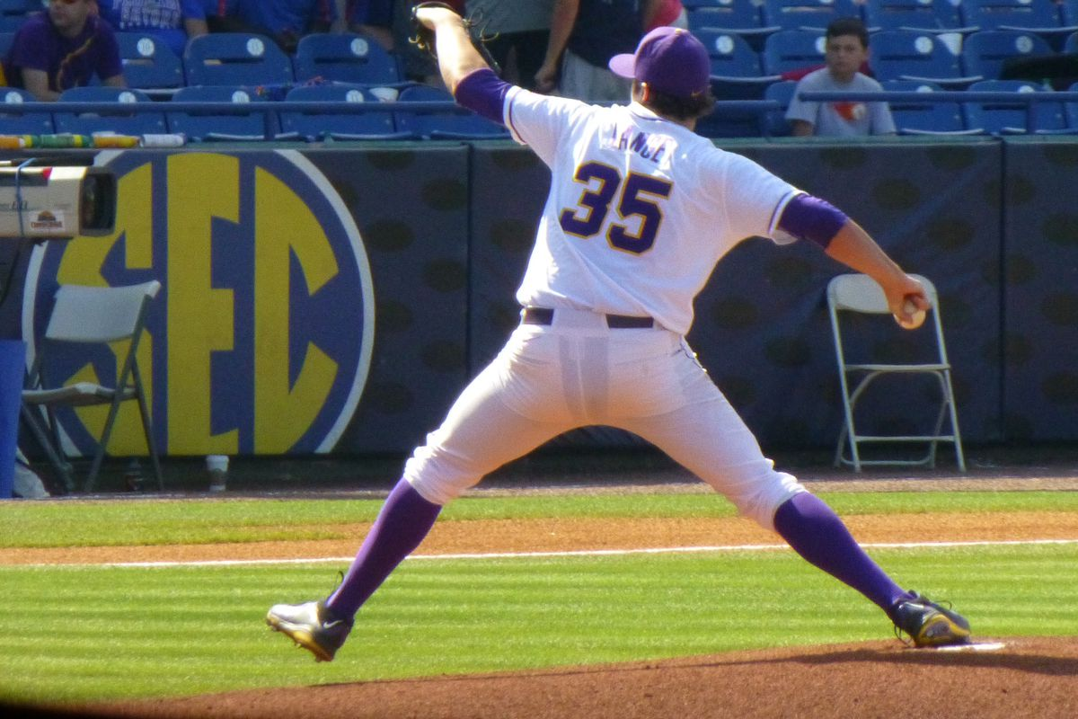 Alex Lange will be a major key to LSU's success in conference play