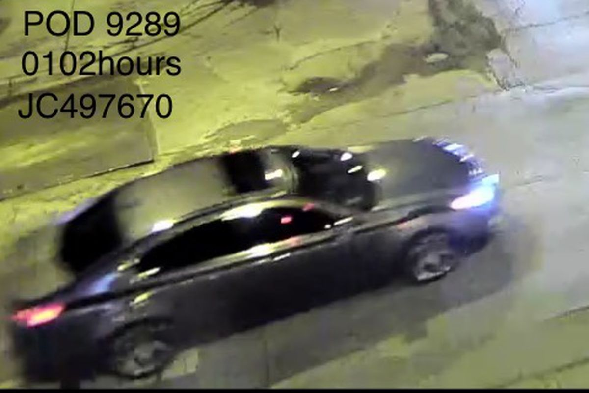 Police say this vehicle is wanted in three shooting that happened Nov. 4, 2019, in Irving Park.