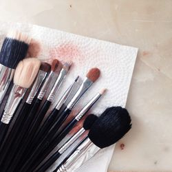 When I was a makeup artist I took a great amount of pride in having always the cleanest brushes. I wish that pride had carried on into my personal life because what used to be an every-few-days spray clean has turned into an every-few-weeks shampoo. I pro