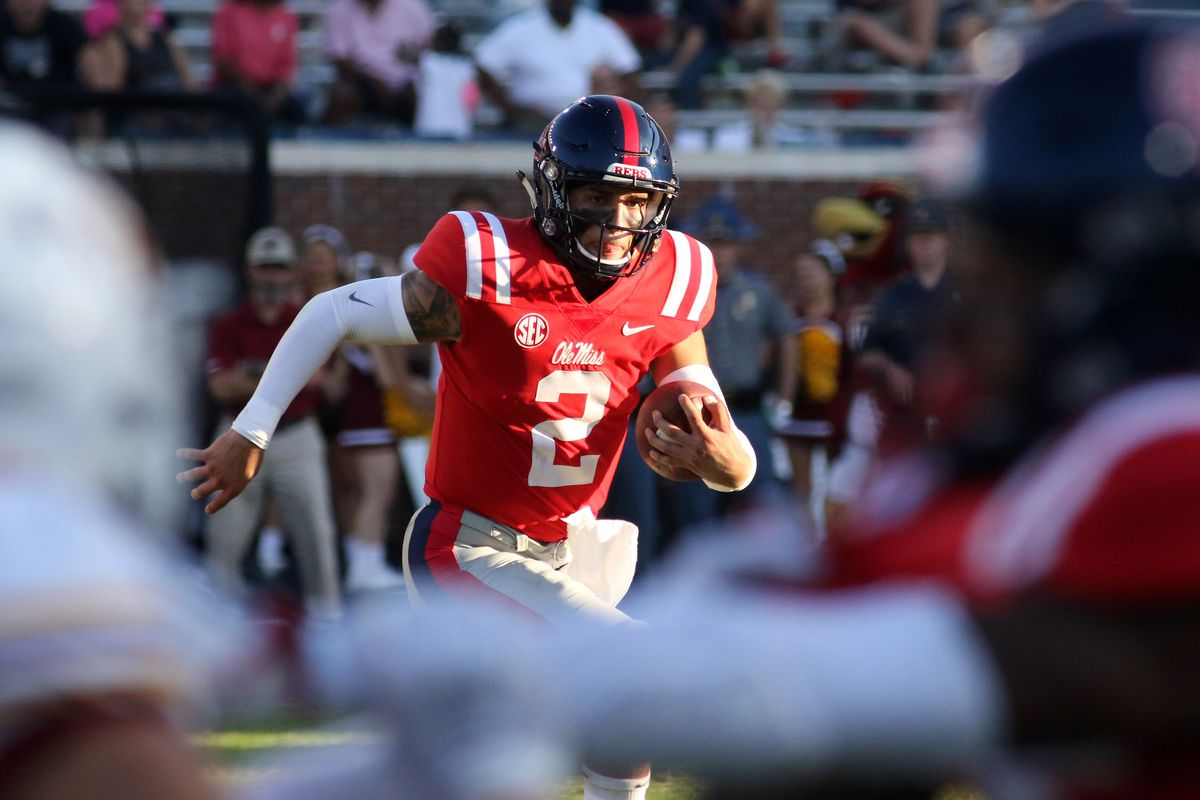 COLLEGE FOOTBALL: OCT 06 ULM at Ole Miss