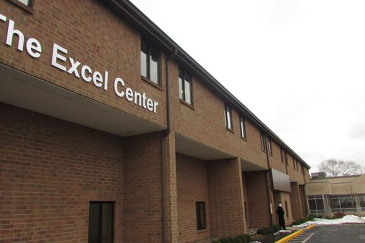 The Excel Center on Michigan Street in Indianapolis is part of a network of dropout recovery charter high schools that serves adults across the state.
