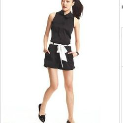 """<a href= """"http://www1.macys.com/campaign/social?campaign_id=202&channel_id=1&cm_sp=fashionstar-_-episode10-_-homepagelink&bundle_entryPath=/karaGallery"""">Fashion Star Romper, Sleeveless Cha Cha Solid Belted</a>, $79 at Macy's"""