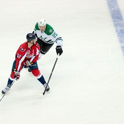 Green Keeps Puck From Ritchie