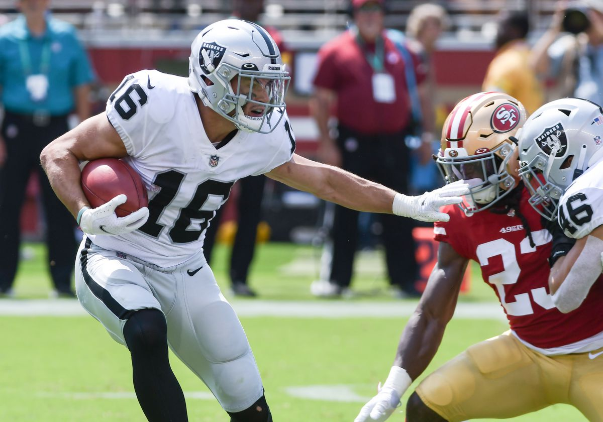 NFL: AUG 29 Preseason - Raiders at 49ers