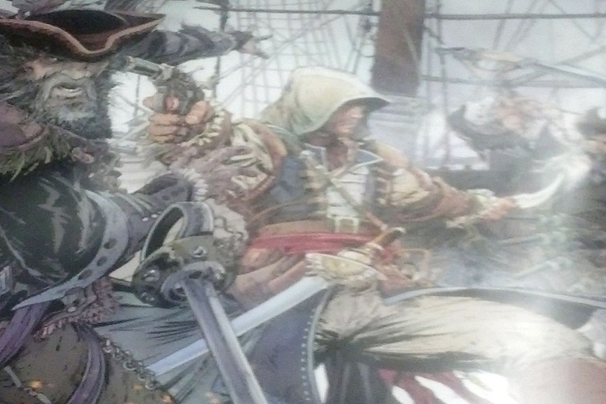 Assassin S Creed 4 Black Flag Poster Reportedly Leaks Update Polygon