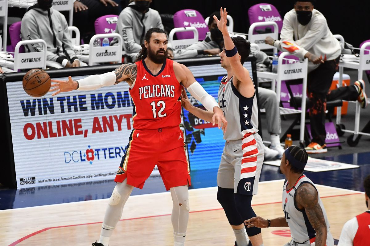 NBA: New Orleans Pelicans at Washington Wizards