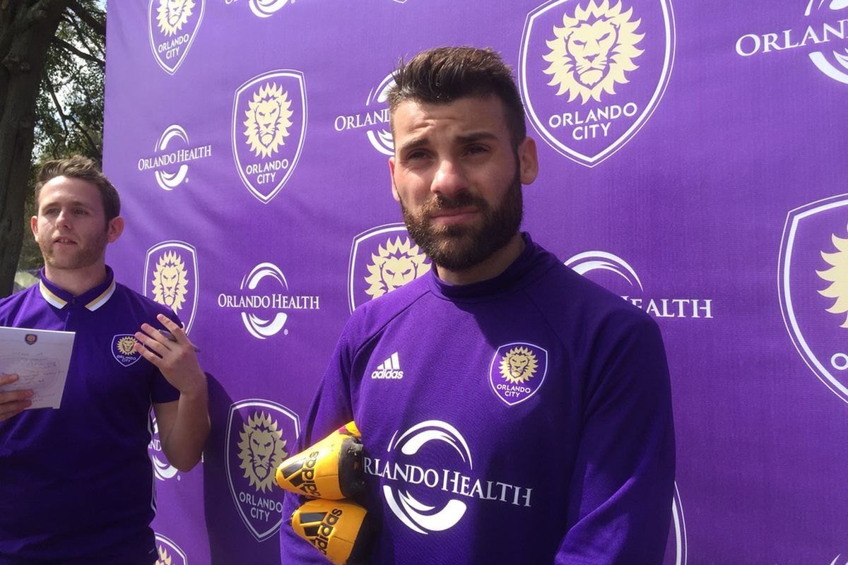 huge discount 1ccb9 7f743 Antonio Nocerino Trains with Orlando City and Meets with ...