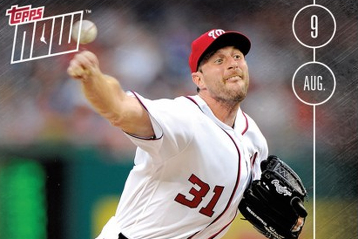 5th Straight Season with 200 K'S - Nationals' Max Scherzer - TOPPS NOW - Federal Baseball