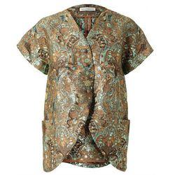 <b>Vika Gazinskaya</b> Gold Jacket, $804.10 (was $2,010.25)