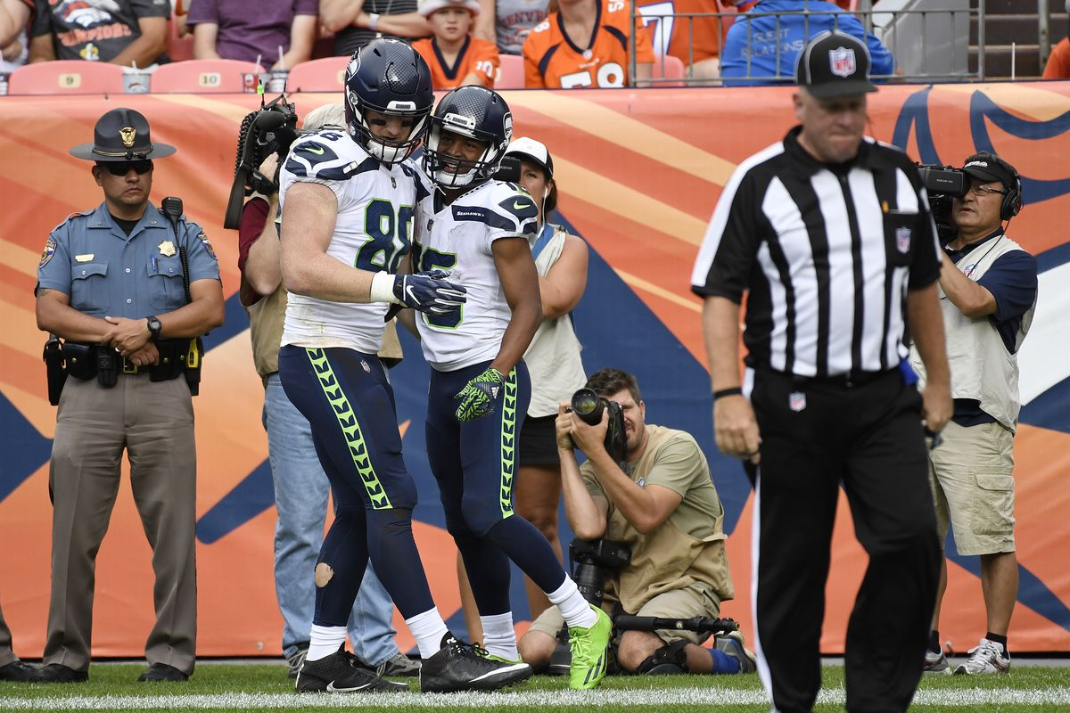 Why the Seahawks' Will Dissly and Tyler Lockett form the best 1-2 punch