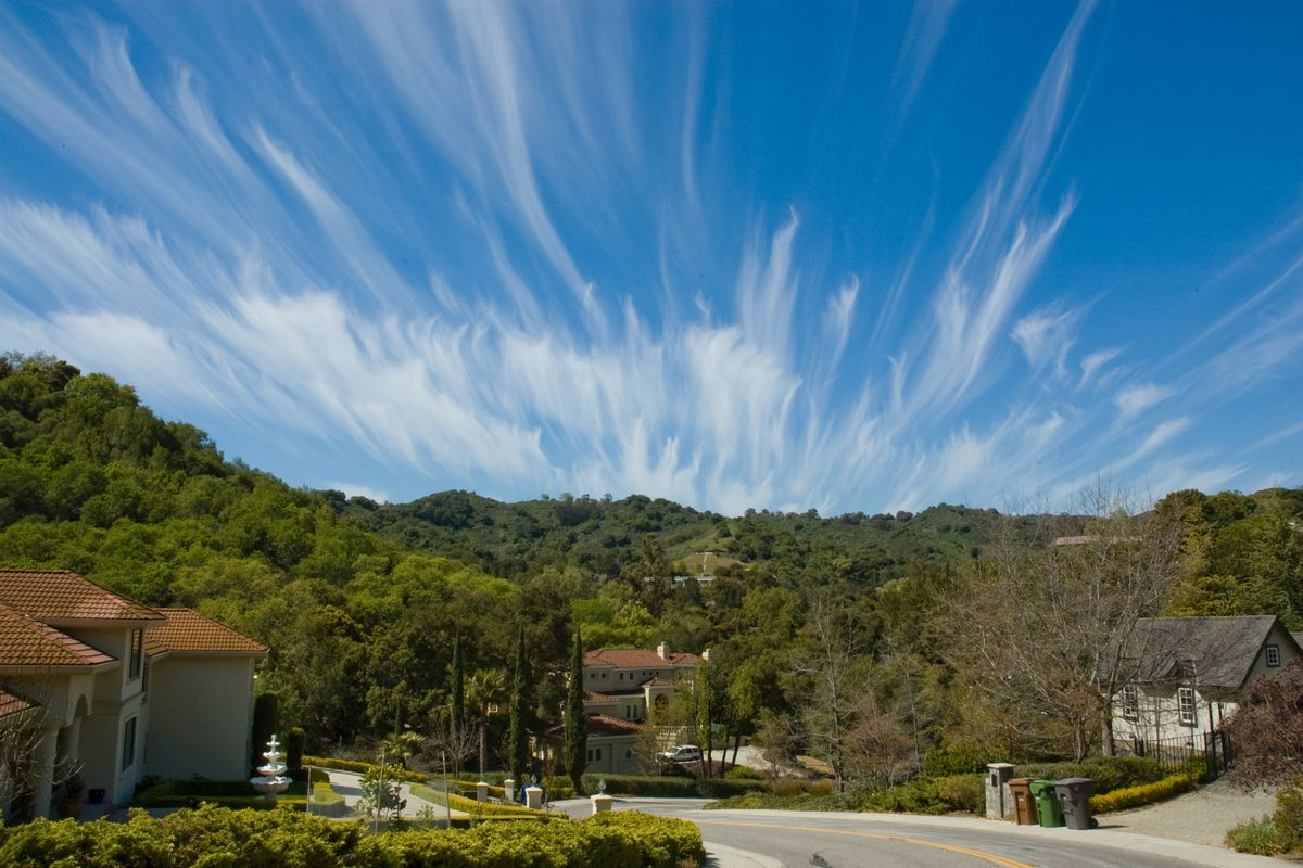 Clouds over Cupertino.