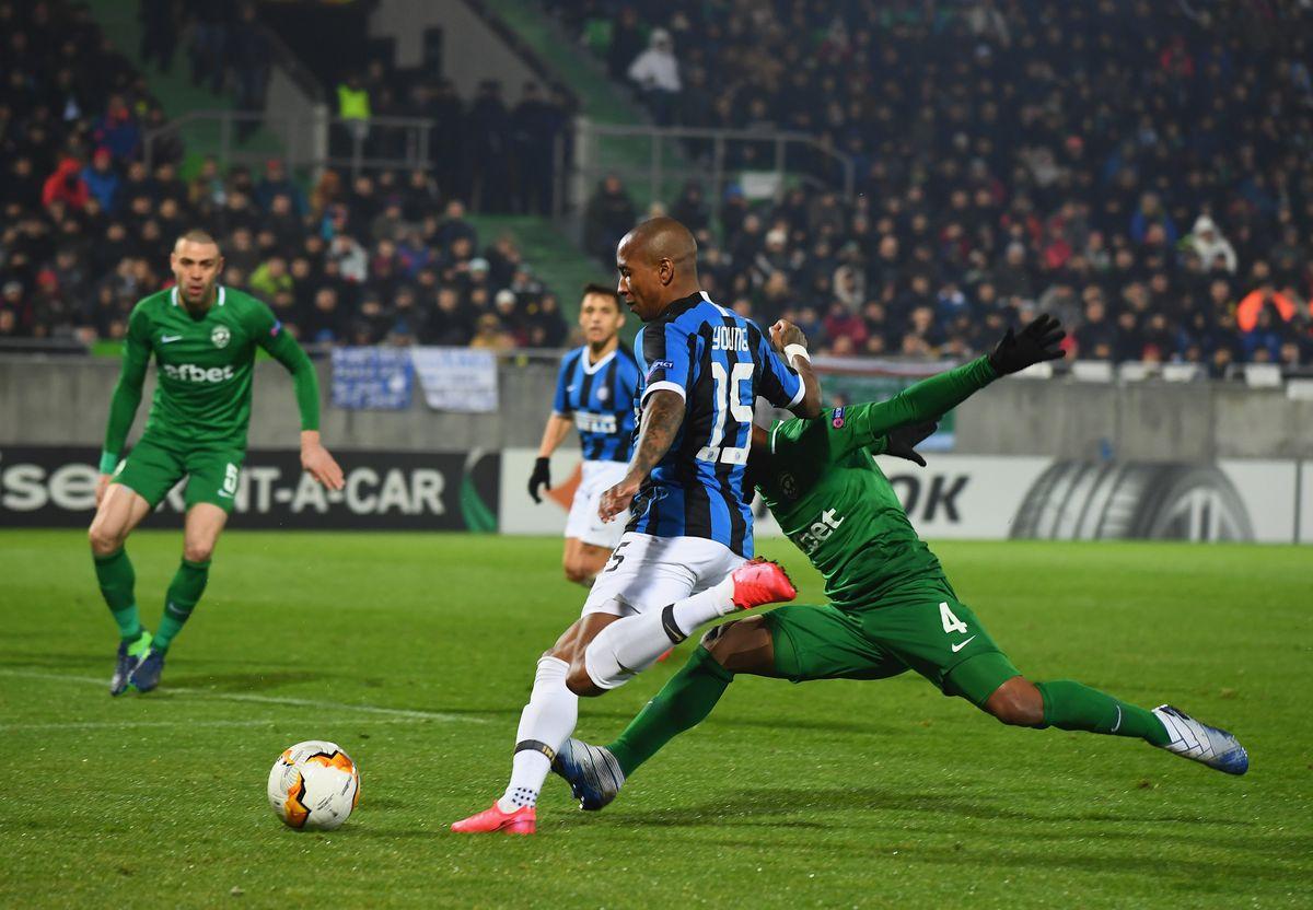 PFC Ludogorets Razgrad v FC Internazionale - UEFA Europa League Round of 32: First Leg