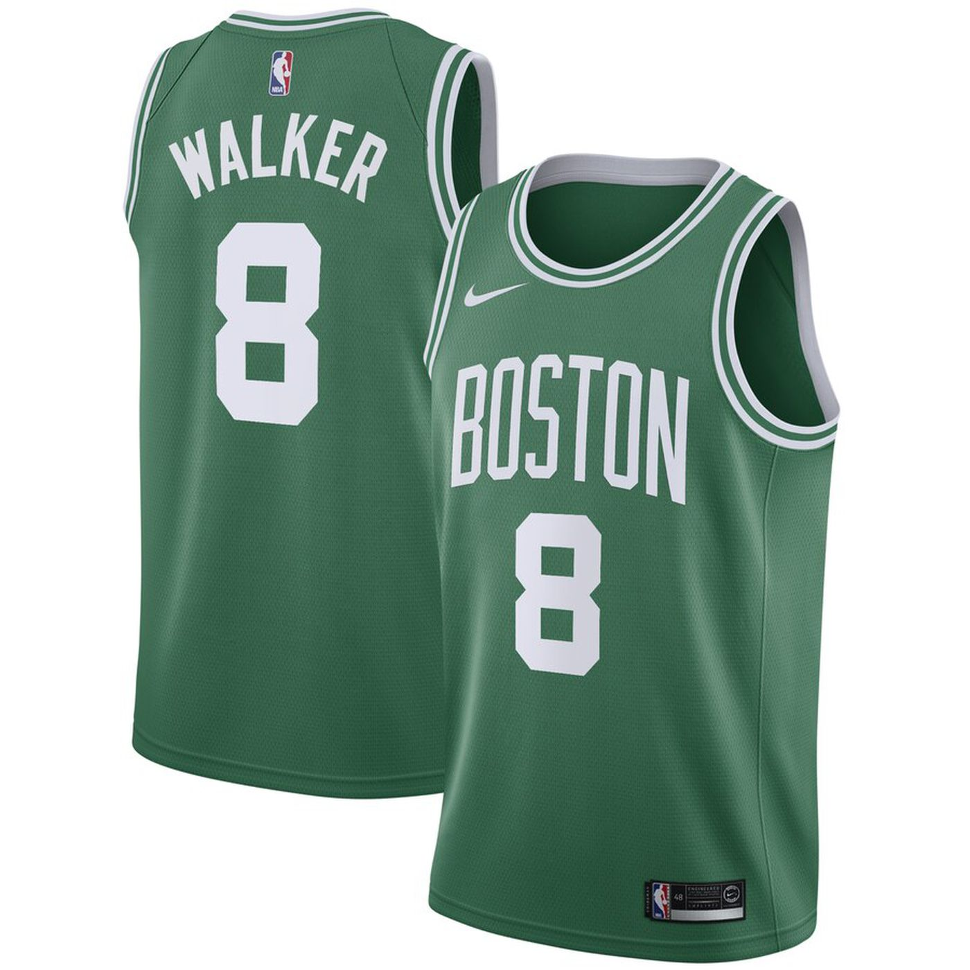 ca5c9588ce7d9 The Kemba Walker era officially begins with his new Celtics Nike jersey!