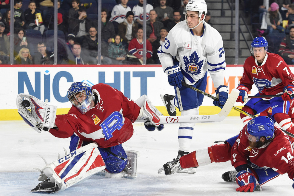 Charlie Lindgren assigned to the Laval Rocket ahead of the regular season