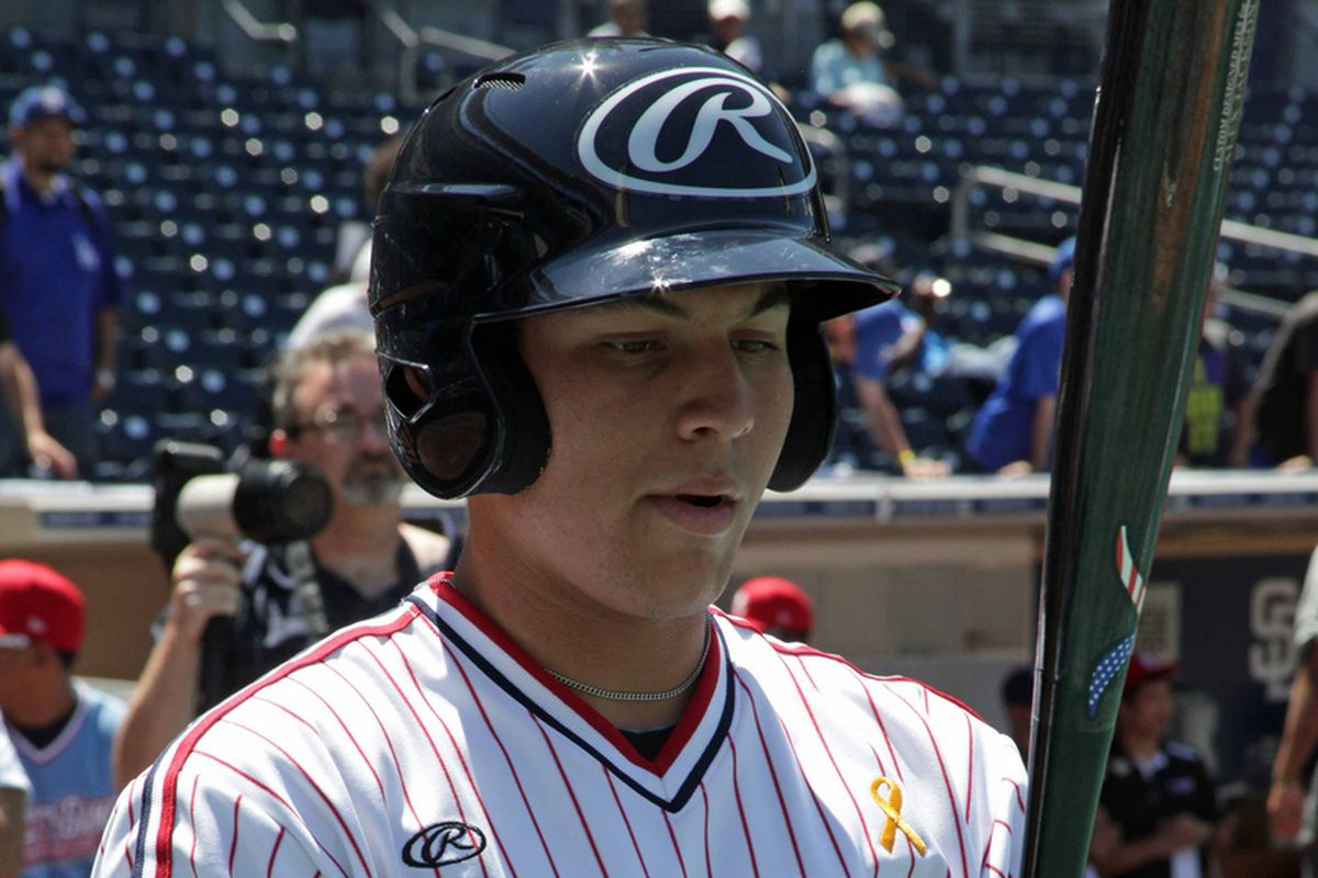Alex Jackson at the Perfect Game All-American Classic