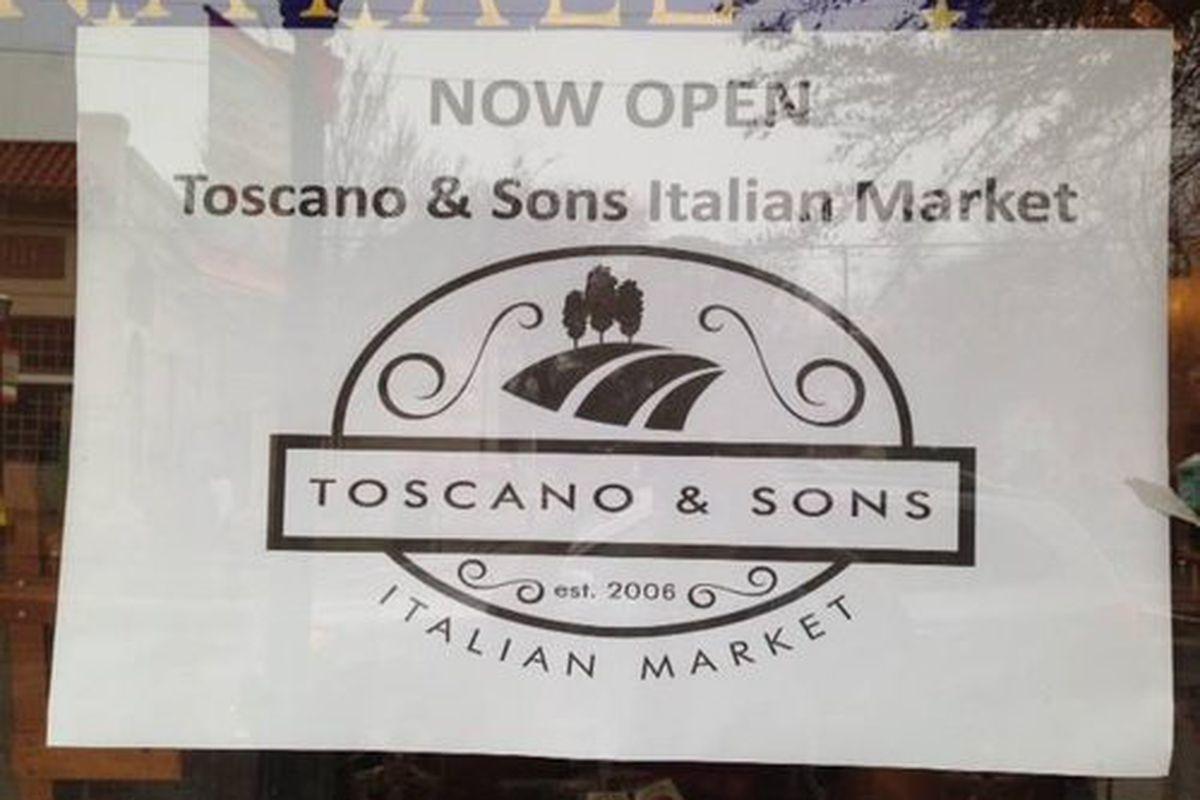 Toscano & Sons.