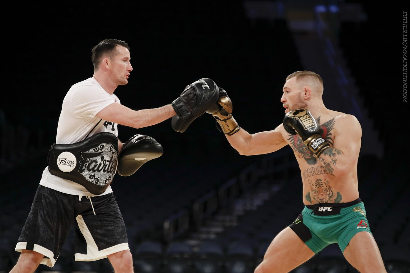 Conor McGregor's boxing coach: 'I have no doubt in my mind' he'll beat Floyd Mayweather