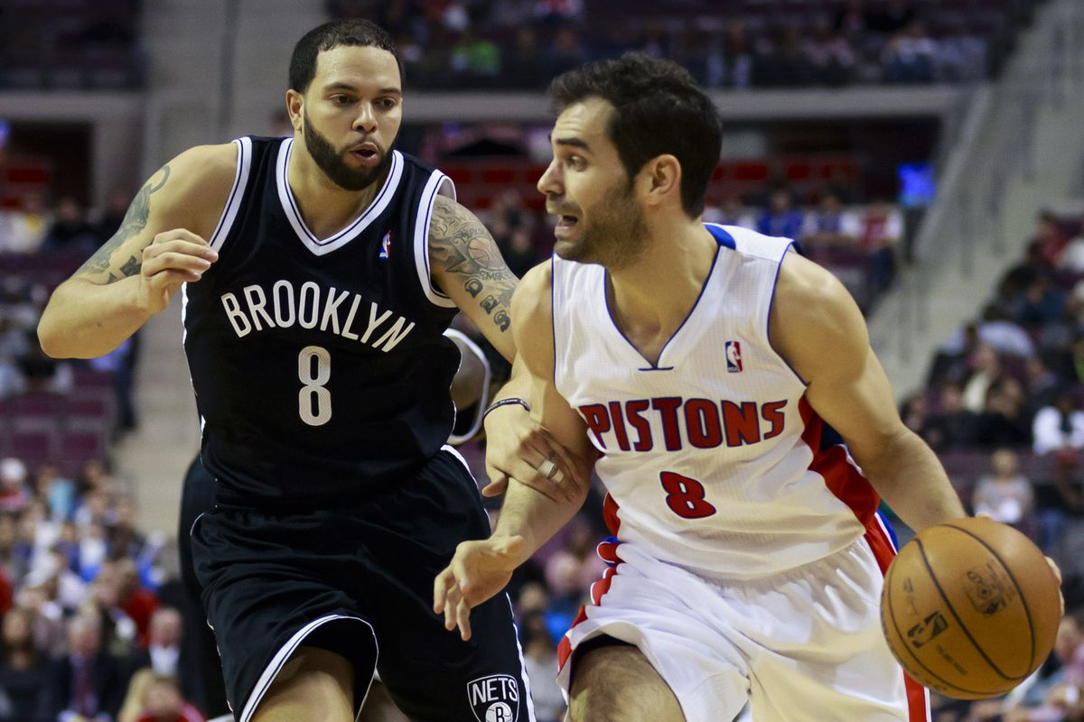 While not as flashy as the league's brightest stars, Jose Calderon provides very good point guard play for the Detroit Pistons.