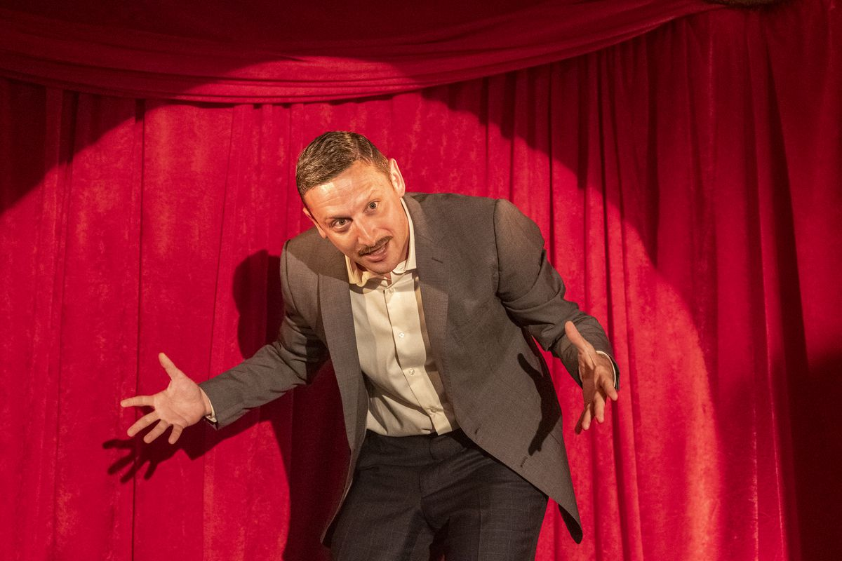 Tim Robinson in his new Netflix sketch comedy series.