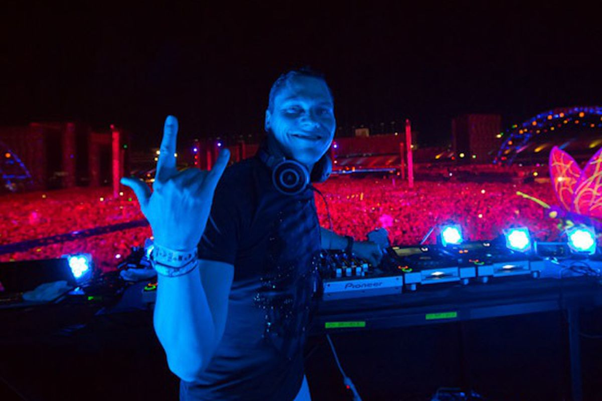 Tiesto at the Electric Daisy Carnival