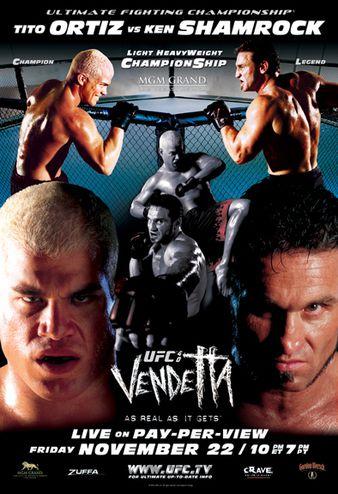 UFC 40 Poster