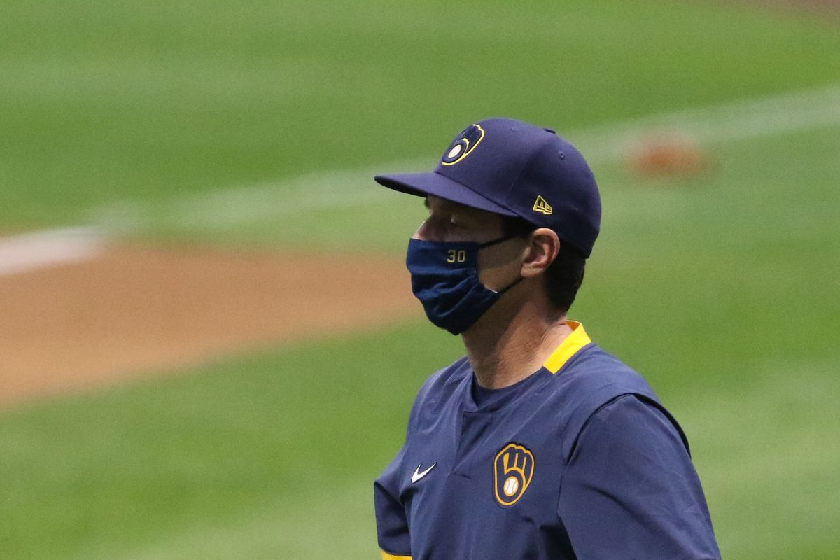 MLB: AUG 25 Reds at Brewers