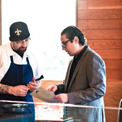 A pre-game chat with executive chef Justin Simoneaux.