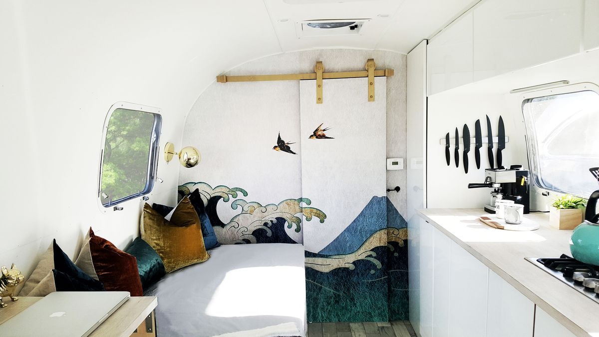 Vintage Airstream with custom detailing asks $78K - Curbed