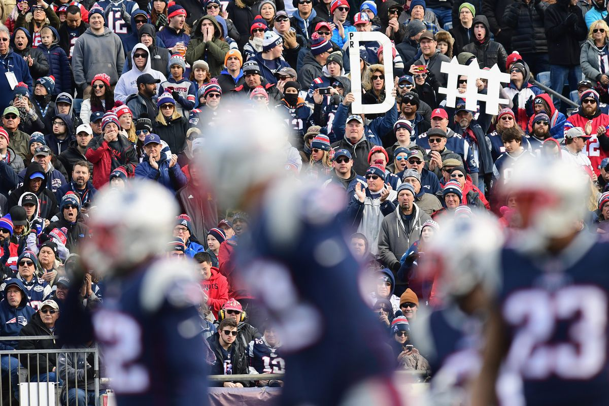 a6235ec43 Study confirms that the Patriots have some of the best fans in the ...