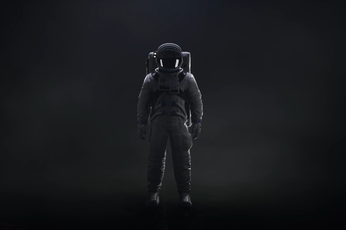 The astronaut in Returnal