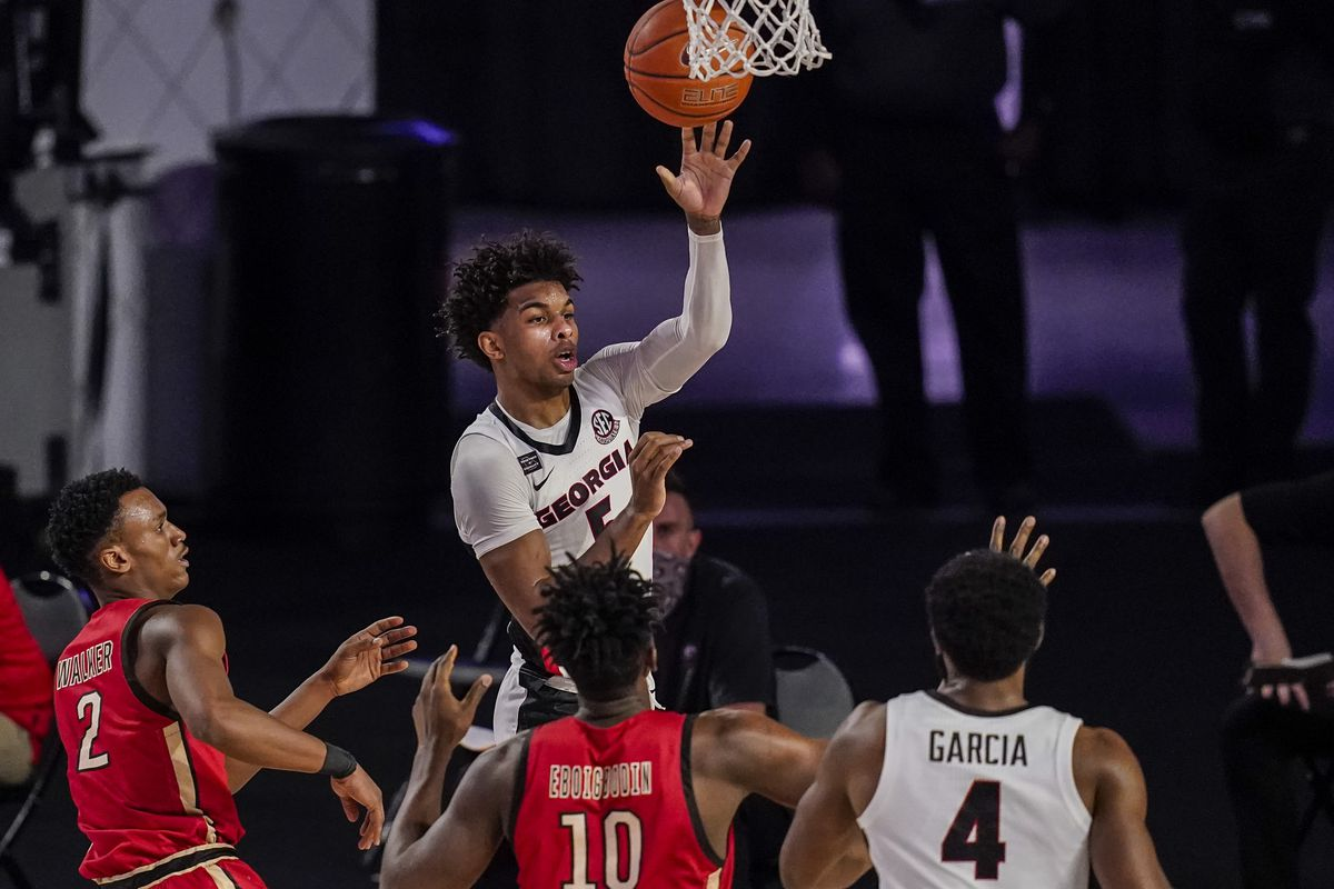 NCAA Basketball: Northeastern at Georgia