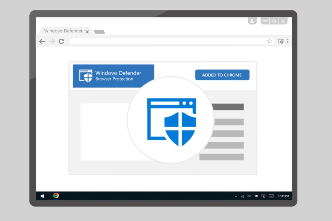microsoft brings its antivirus protection to google s chrome browser