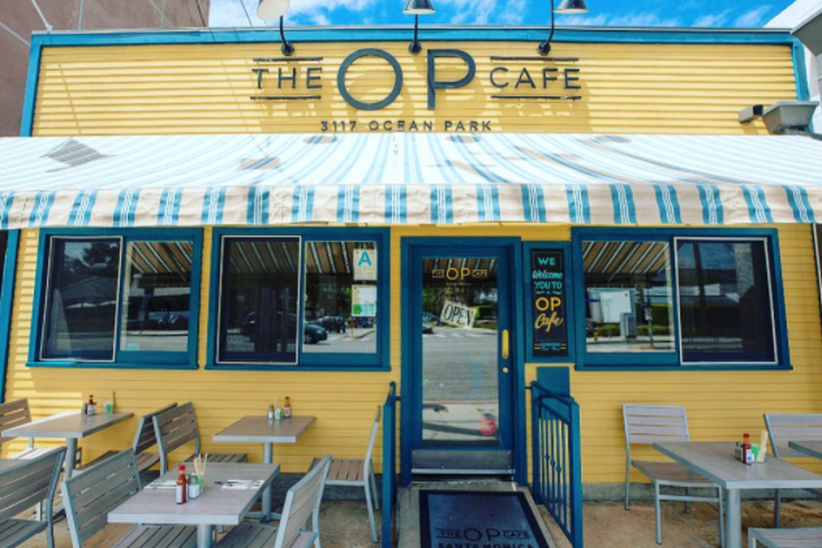 The OP Cafe in Santa Monica.