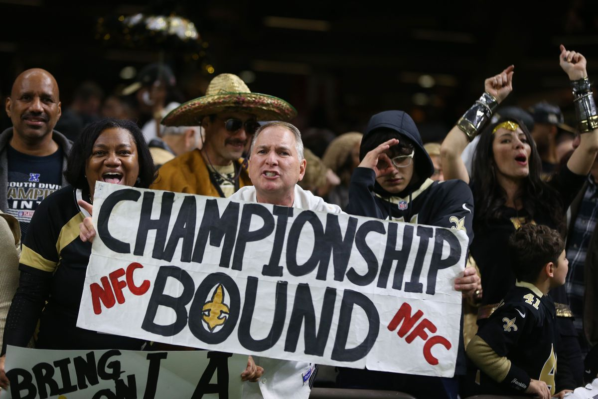 NFL: NFC Divisional Playoff-Philadelphia Eagles at New Orleans Saints