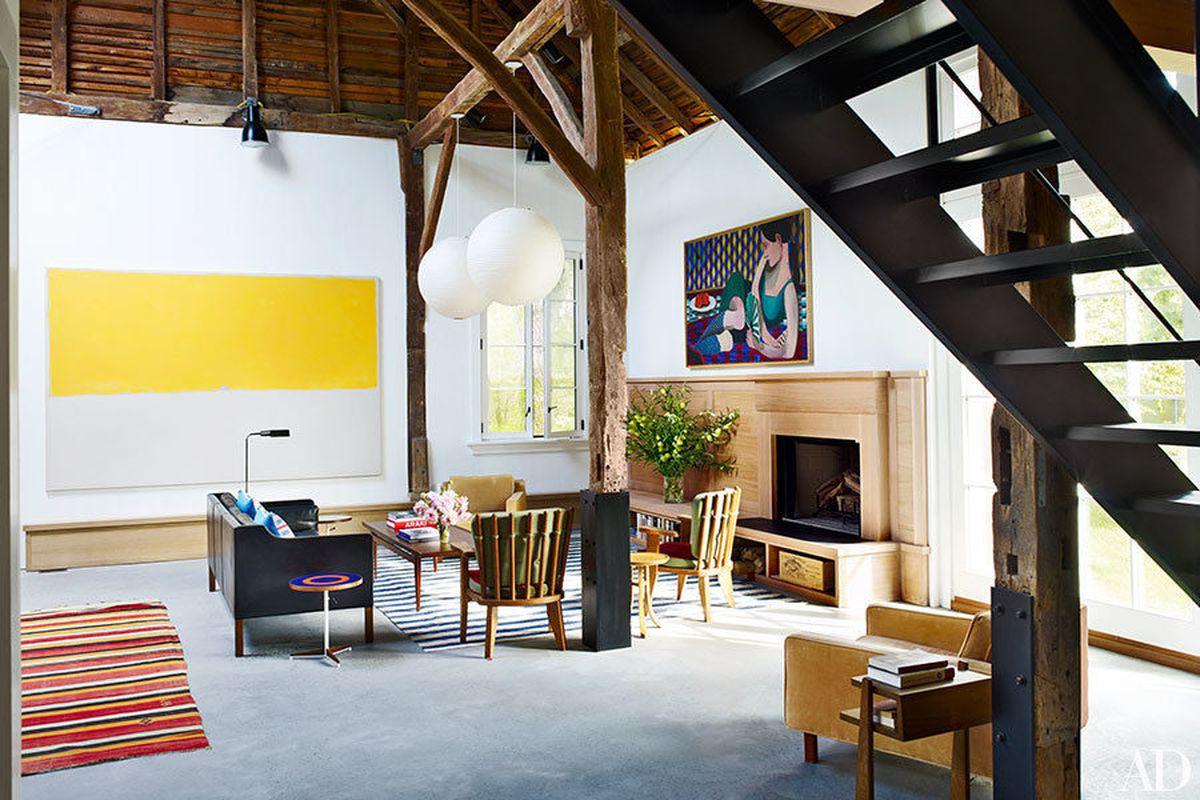 Inside Artist David Salle S East Hampton Home And Studio