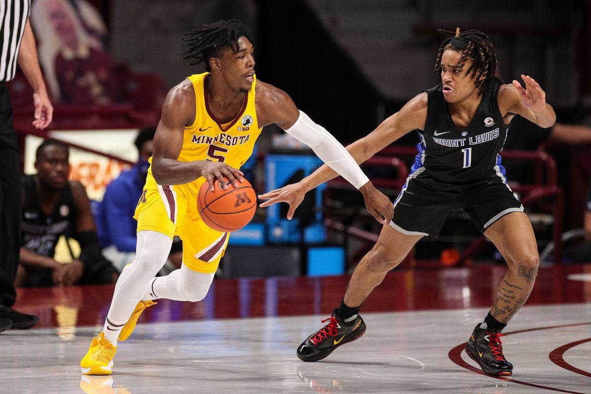 NCAA Basketball: Saint Louis at Minnesota