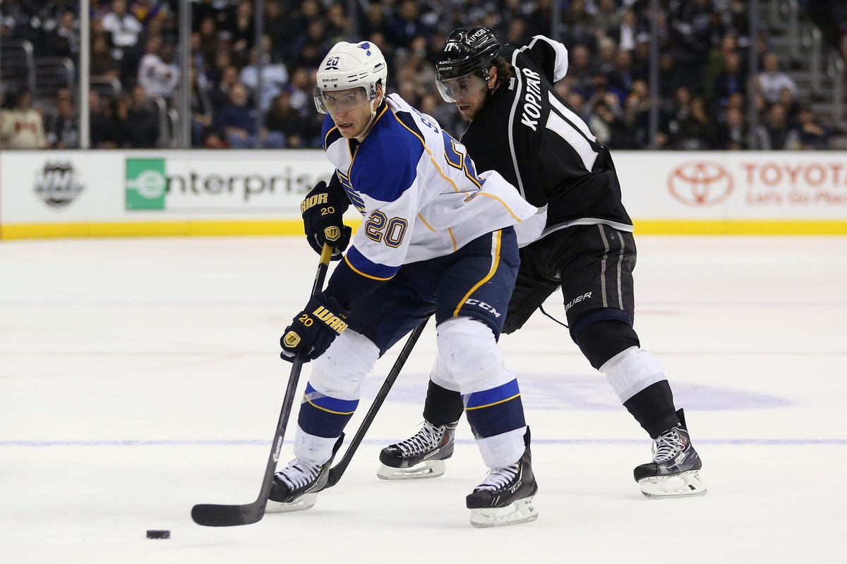 This season, Alexander Steen counts as a goal scorer; do the Blues need someone more?